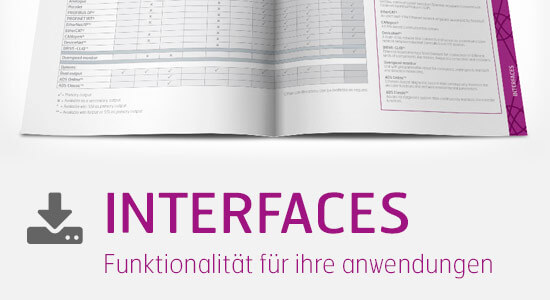 Download brochure Interfaces